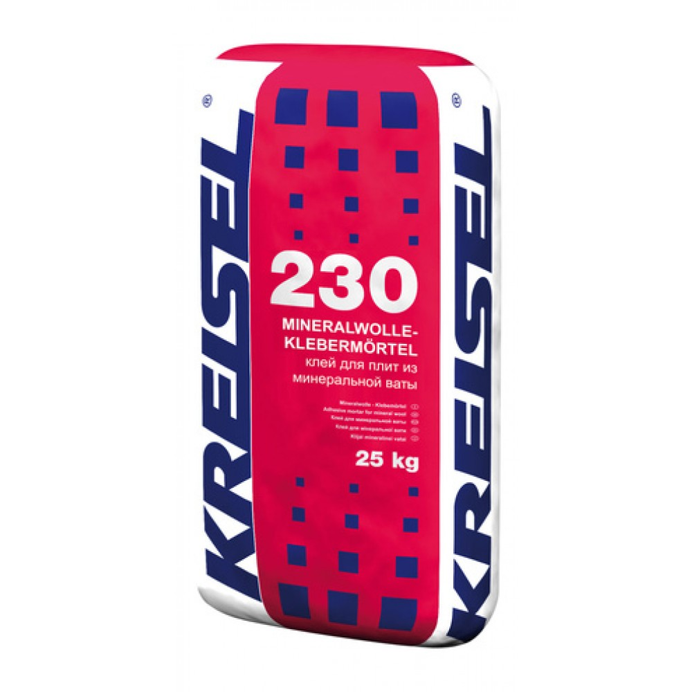 Клей для минеральной ваты MINERALWOLLE-KLEBEMORTEL 230 Kreisel